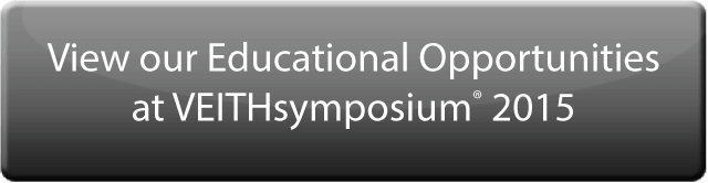 View our Educational Opportunities at VEITHsymposium® 2015