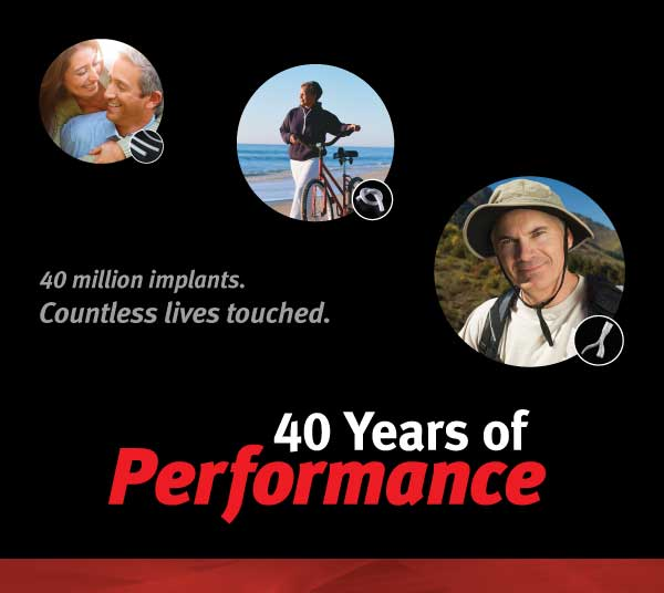 40 Years of Performance